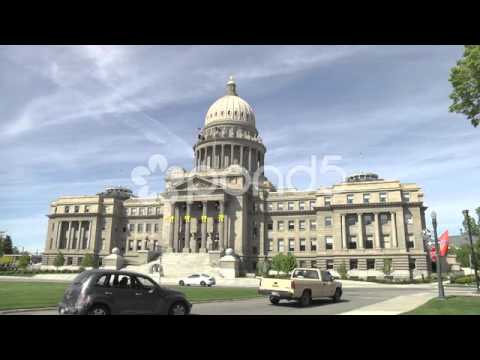 Royalty Free Footage - Idaho State Capitol Building