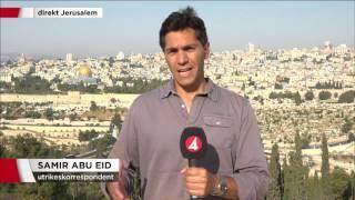 Fortsatta oroligheter i Jerusalem - FN blixtinkallar till möte - Nyheterna (TV4)