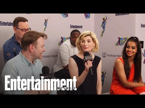 Doctor Who: Jodie Whittaker On Filming The Show's New Season | SDCC 2018 | Entertainment Weekly