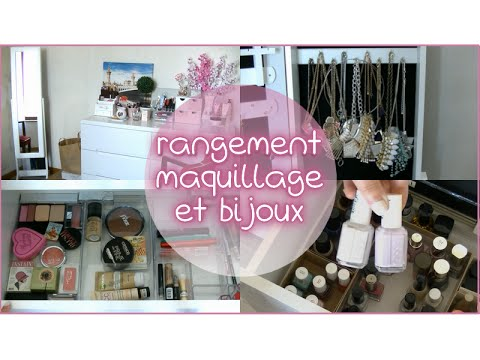 rangement maquillage et bijoux bons plans et astuces youtube. Black Bedroom Furniture Sets. Home Design Ideas