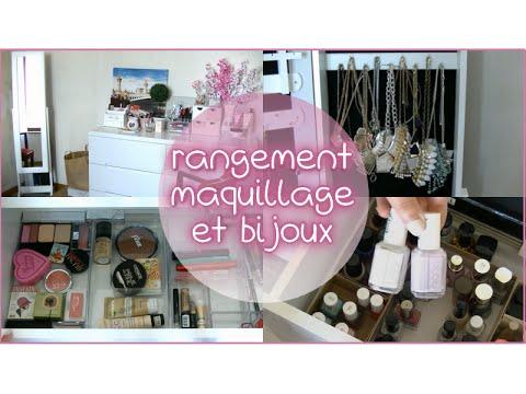 rangement maquillage et bijoux bons plans et astuces. Black Bedroom Furniture Sets. Home Design Ideas