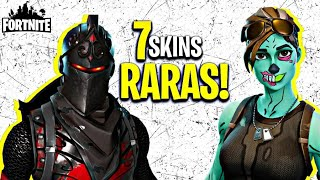 Top 7 rarest skins of the fortnite!