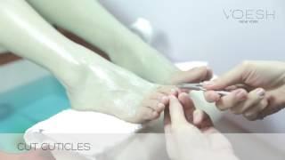 VOESH Deluxe Spa Pedicure Socks