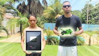 MS2 VS ALADDIN ( KAWASAKI NINJA VS PLACA DO YOUTUBE ) DESAFIOS DE FUTEBOL ‹ Michel Silva ›