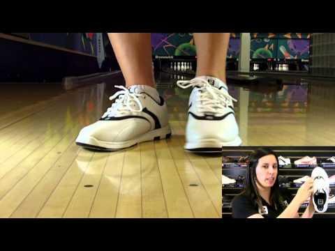 Brunswick Silk White/Black Women's Bowling Shoes