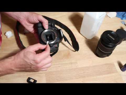DSLR Cleaning Lens/ Body/ Sensor