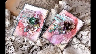 Elena Morgun november cards Tutorial