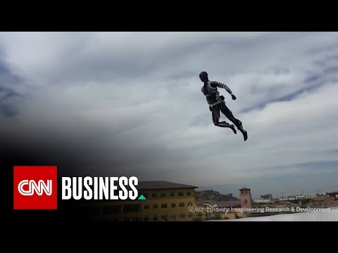 Disney's high-flying acrobatic robots will floor you