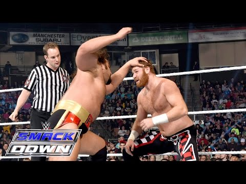 Sami Zayn, Cesaro & Kalisto vs. The League of Nations: SmackDown, April 28, 2016