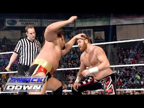 Sami Zayn, Cesaro & Kalisto vs. The League of Nations: SmackDown, April 28, 2016