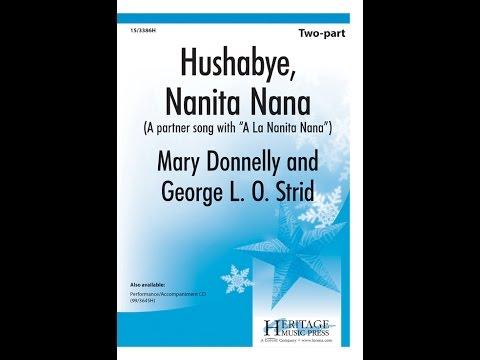 Hushabye Nanita Nana (2pt) - Mary Donnelly, George L O Strid