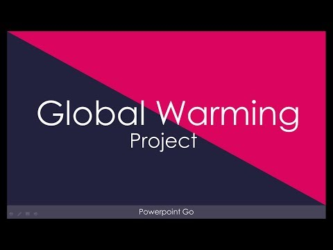 Global Warming Presentation by Powerpoint Go