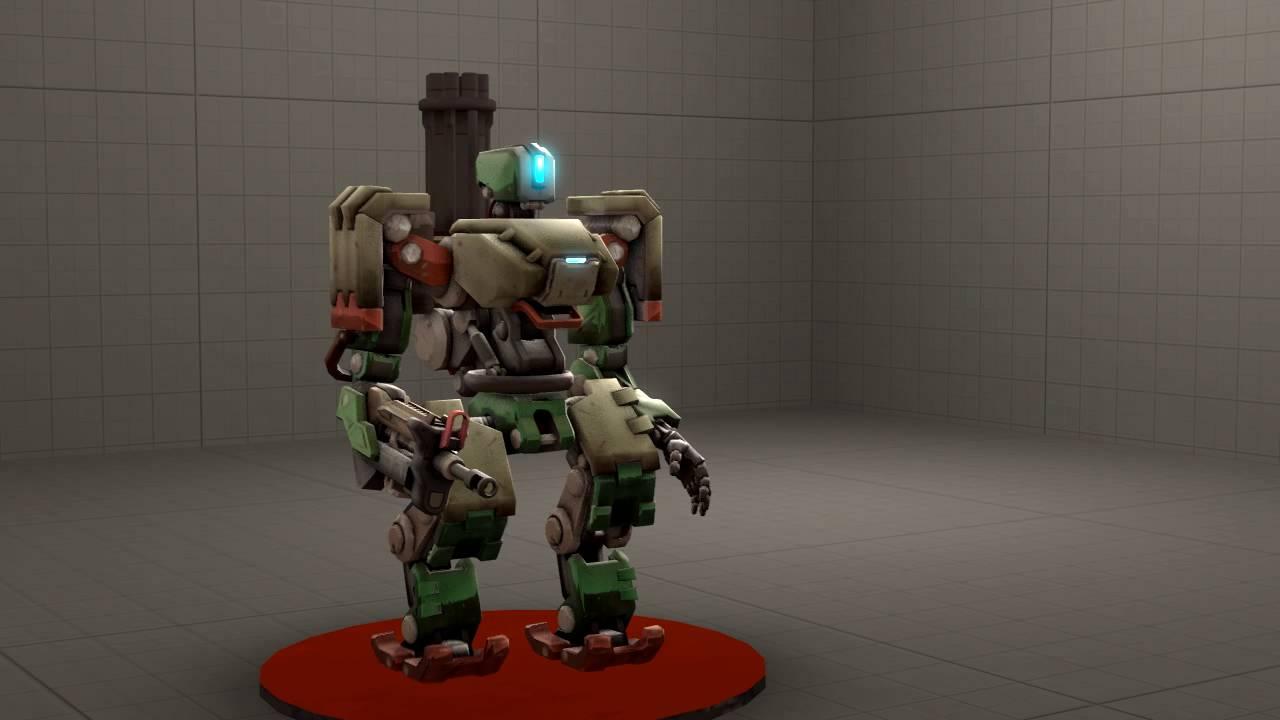 Bastion turret transformation animation - YouTube