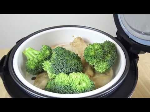 Making An Easy Chicken Meal In An Aroma Rice Cooker