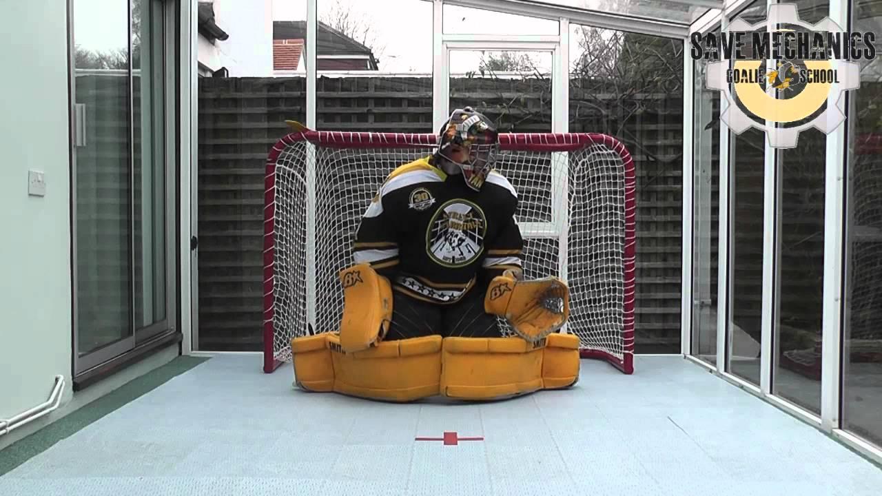 Save Mechanics 15 Inline Hockey Goalie Training Slapping Bflys