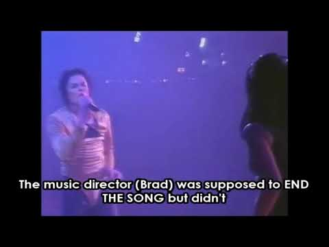 Michael Jackson fired his music director on stage!!