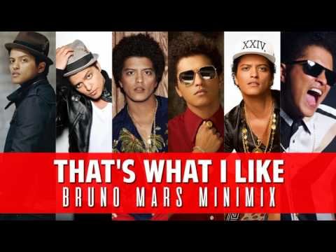 BRUNO MARS MIX - That's What I Like/ Uptown Funk/ Locked Out of Heaven/ JTWYA / Nothin' On You