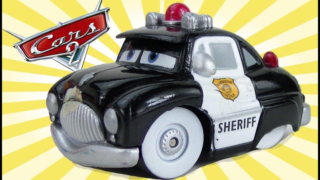 Cars 2 Disney Sheriff Mini Adventures Lighting Mcqueen