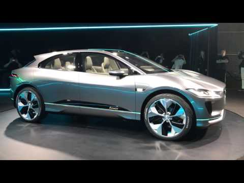 Jaguar takes aim at Tesla with its all-electric I-Pace Concept SUV