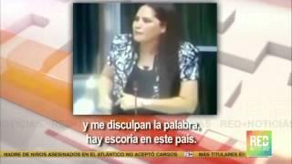 Diputada panameña expresó que inmigrantes colombianos son escoria en su país.