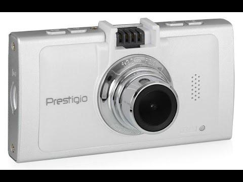 Видеорегистратор Prestigio RoadRunner 570GPS дневная съемка