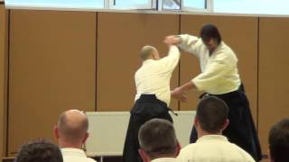 Kokyu nage (switch hands) by Andy Sato - Sofia 2017