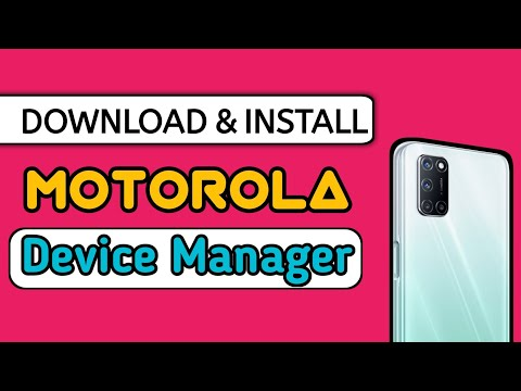How To Download & Install Motorola Usb Drivers And Manager