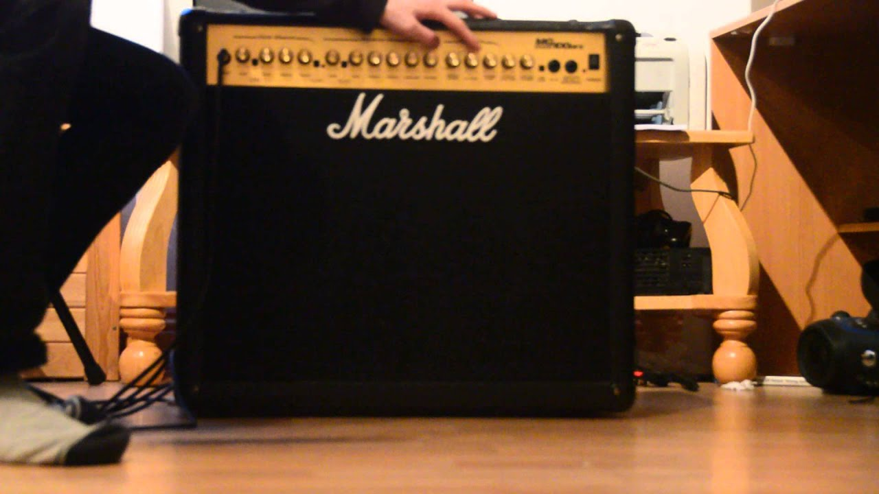 Marshall Mg100dfx Combo Amp Review By Wasd9ox