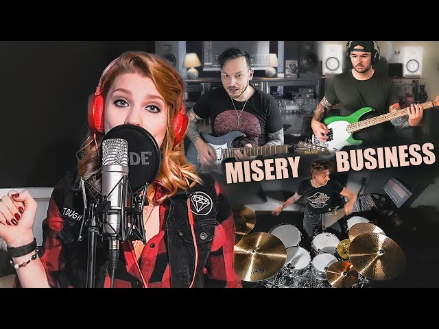 Paramore - Misery Business feat. Jara Buczynski (Full-Band-Cover)