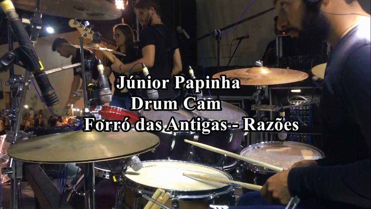 Junior Papinha - Drum Cam - Música Razões (Mastruz Com Leite)