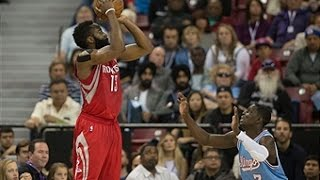 James Harden Drops 43 on the Kings