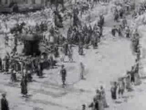 (Rare) Funeral of Emperor Sunjong of Korean Empire (1926)