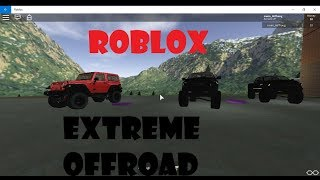Roblox|extreme off-road simulator