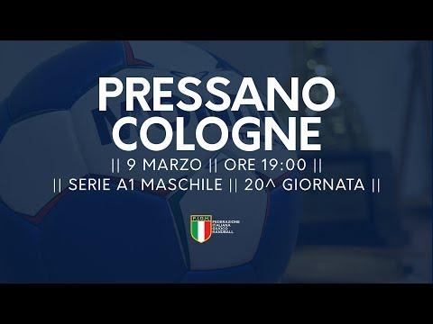 Serie A1M [20^]: Pressano - Cologne 28-23