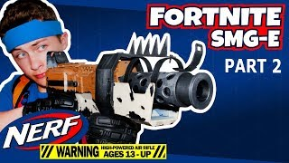 Nerf Fortnite Tactical SMG na vida real (parte 2)