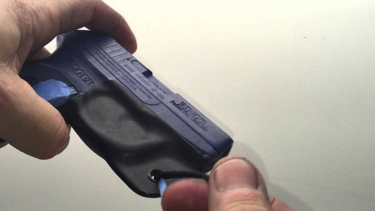 Kydex Trigger Guard for Ruger LCP with full Sweat Guard