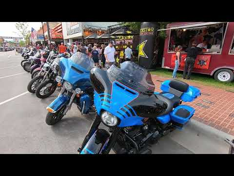 Main St. Sturgis 79th Annual Motorcycle Rally