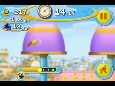 PAC-MAN DASH! Metal Pac-man Pac-Mall Level More Ios Iphone Gameplay