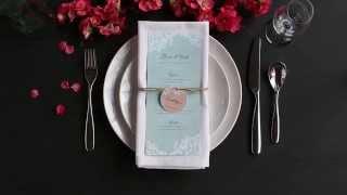 Table Setting Tips: Menu Napkin Folds - Basic Napkin Fold