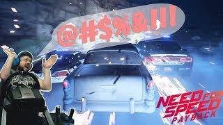 Сончик нереально бомбанул от Need for Speed Payback! Уровень идиотии зашкаливает!!!