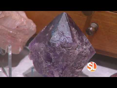 Four Peaks Mining Company Shows How You How They Pull Amethyst From The Mountians Of Arizona