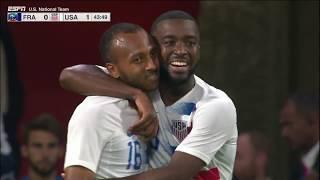 MNT vs. France: Julian Green Goal - June 9, 2018