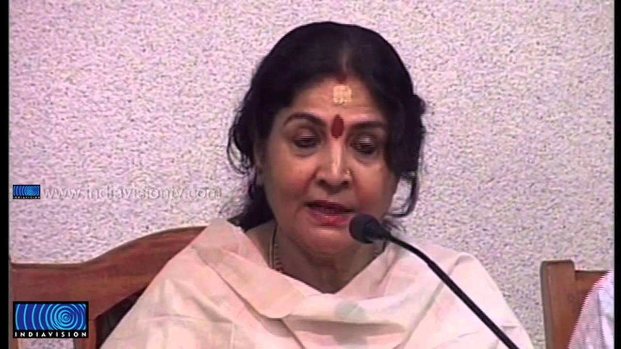 Actress Jayabharathi explains influence of dance in acting ...