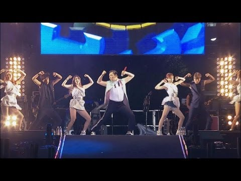 PSY - SHAKE IT (흔들어주세요) @ Seoul Plaza Live Concert