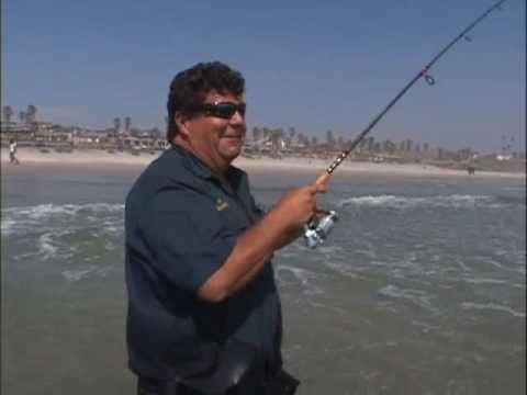 Dan Hernandez In Rosarito Mexico Surf Fishing With Gulp