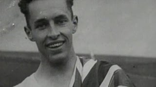 Percy Williams Wins 100m & 200m Gold At 19 - Amsterdam 1928 Olympics(Classic Olympic highlights as Canada's 19 year old Percy Williams claims the gold medal in the 100m and 200m events at the Amsterdam 1928 Olympic Games., 2013-05-09T09:30:08.000Z)