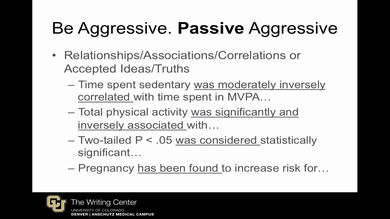 Passive Voice in Scientific Writing: When & Why