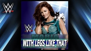 "WWE: ""With Legs Like That"" (Maria) Theme Song + AE (Arena Effect)"