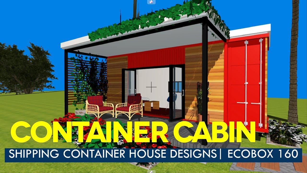 modern container house designs with floor plans ecobox 160 studio