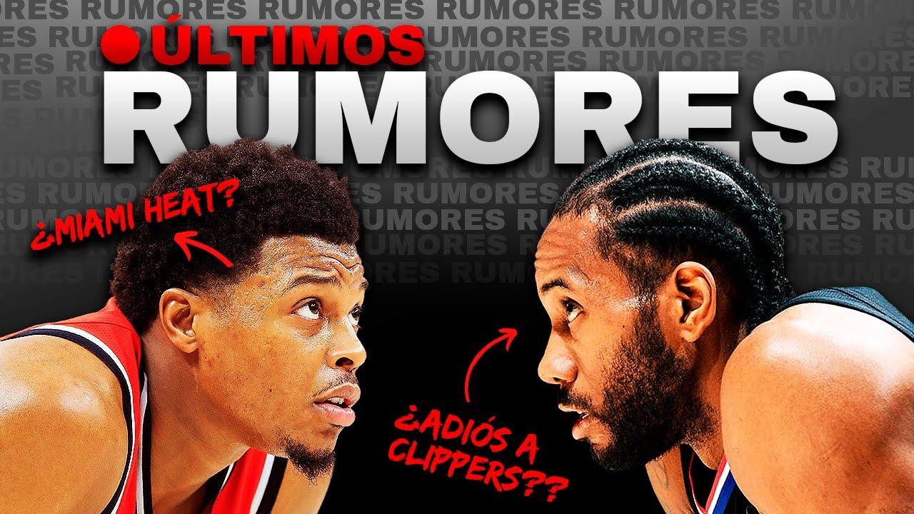 ¡ÚLTIMA HORA! TODOS LOS RUMORES DE FICHAJES EN LA NBA